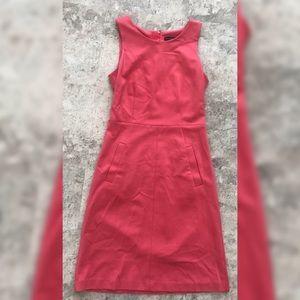 Lightly worn, pink midi dress